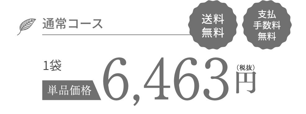 通常コース 6,980円